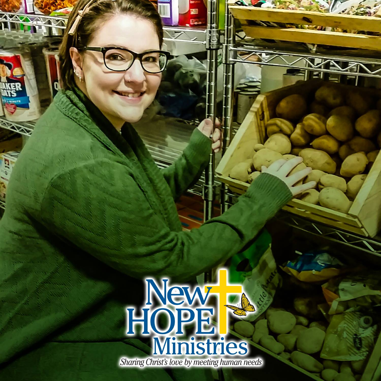 New Hope Ministries food pantry